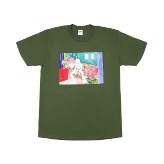 FW18 Supreme Bedroom Tee Olive