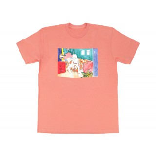 FW18 Supreme Bedroom Tee Terra Cotta