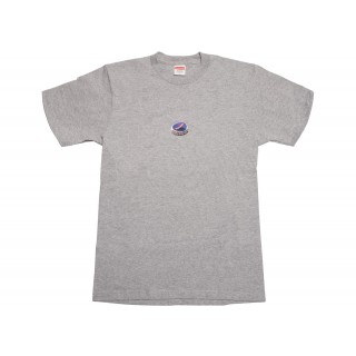 FW18 Supreme Bottle Cap Tee Heather Grey