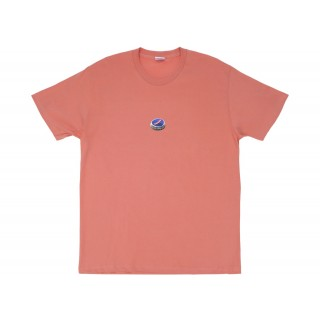 FW18 Supreme Bottle Cap Tee Terra Cotta
