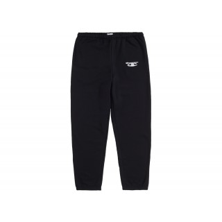 FW18 Supreme Champion 3D Metallic Sweatpant Black