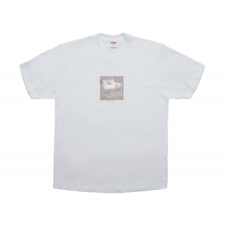 FW18 Supreme Chair Tee White