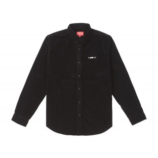FW18 Supreme Corduroy Shirt Black