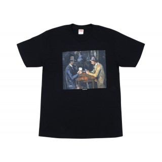 FW18 Supreme Cards Tee Black