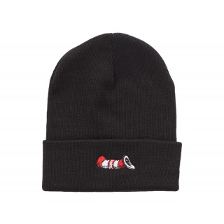 FW18 Supreme Cat in the Hat Beanie Black