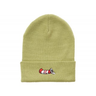 FW18 Supreme Cat in the Hat Beanie Light Olive