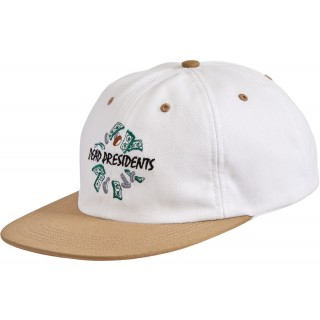 FW18 Supreme Dead Presidents 6-Panel Hat Tan