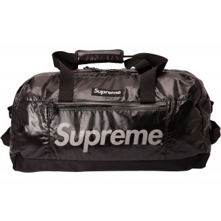 FW18 Supreme Duffle Bag Black