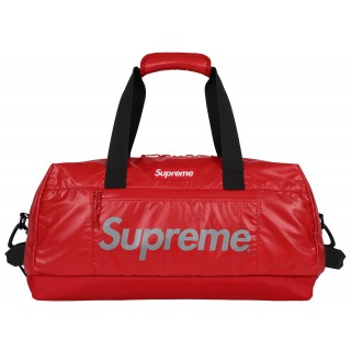 FW18 Supreme Duffle Bag Red