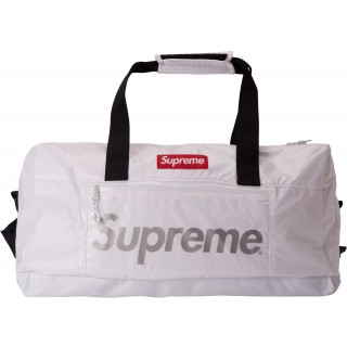 FW18 Supreme Duffle Bag White