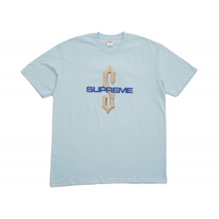FW18 Supreme Diamonds Tee Pale Blue