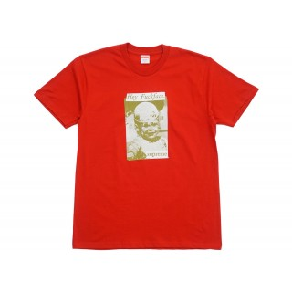 FW18 Supreme Fuck Face Tee Red