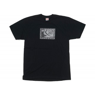 FW18 Supreme Fuck Off Tee Black