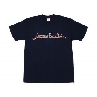 FW18 Supreme Fuck You Tee Navy