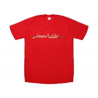 FW18 Supreme Fuck You Tee Red