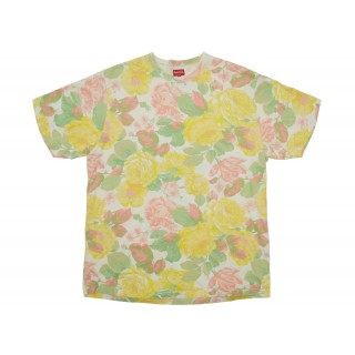 FW18 Supreme Flowers Tee White