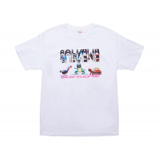 FW18 Supreme Friends Tee White