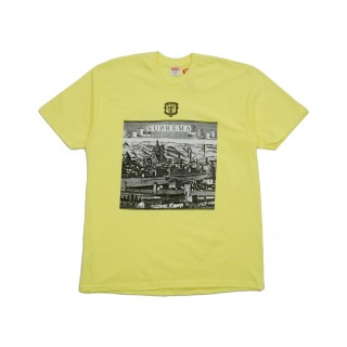 FW18 Supreme Fiorenza Tee Bright Yellow