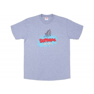 FW18 Supreme Ganesha Tee Heather Grey