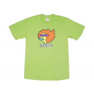 FW18 Supreme Gonz Tee Lime