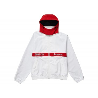 FW18 Supreme GORE-TEX Court Jacket White