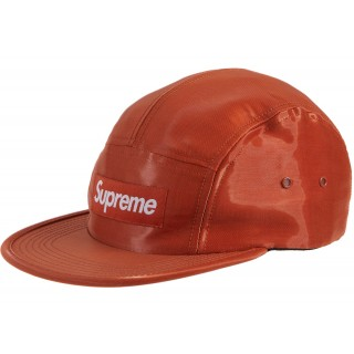 FW18 Supreme Liquid Silk Camp Cap Orange