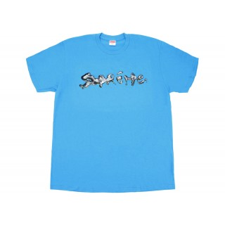 FW18 Supreme Liquid Tee Bright Blue