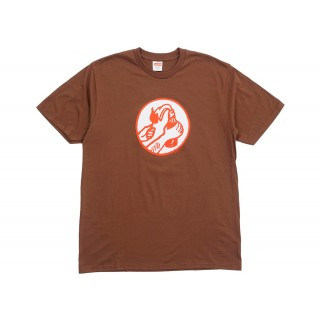 FW18 Supreme Molotov Tee Brown