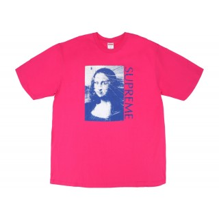 FW18 Supreme Mona Lisa Tee Hot Pink