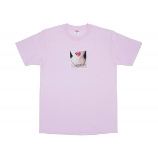 FW18 Supreme Necklace Tee Light Pink