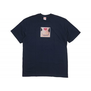 FW18 Supreme Necklace Tee Navy