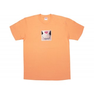 FW18 Supreme Necklace Tee Peach