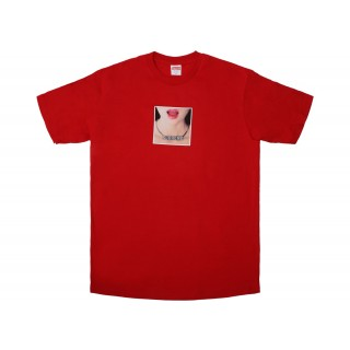 FW18 Supreme Necklace Tee Red