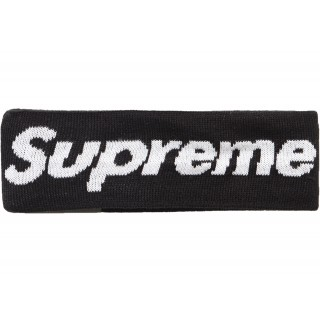 FW18 Supreme New Era Big Logo Headband (FW18) Black