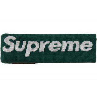 FW18 Supreme New Era Big Logo Headband (FW18) Dark Green