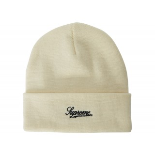 FW18 Supreme Obama Beanie Natural
