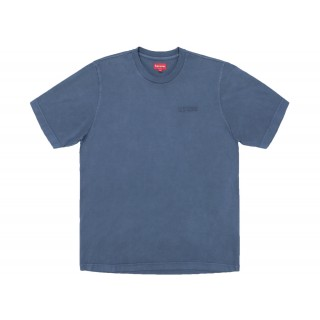 FW18 Supreme Overdyed Tee Navy