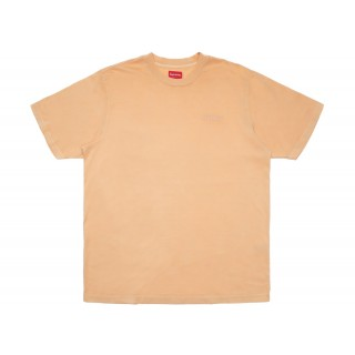 FW18 Supreme Overdyed Tee Peach