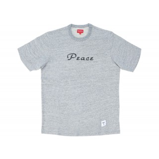 FW18 Supreme Peace Top Heather Grey