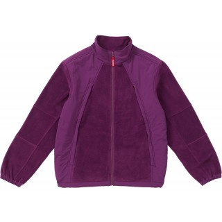 FW18 Supreme Polartec Zip Up Jacket Purple