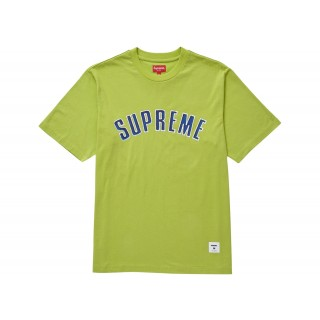 FW18 Supreme Printed Arc S/S Top Lime