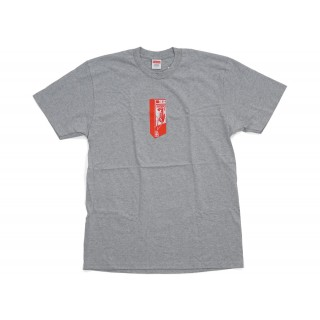 FW18 Supreme Payphone Tee Heather Grey