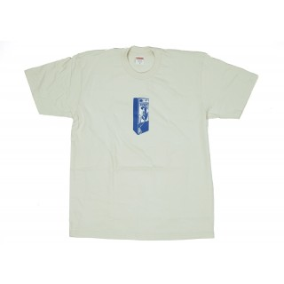 FW18 Supreme Payphone Tee Natural