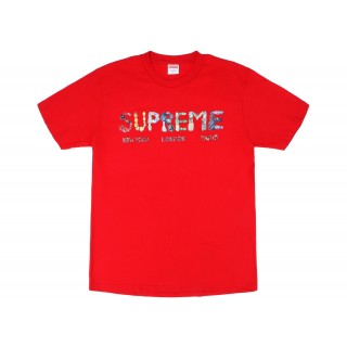 FW18 Supreme Rocks Tee Red