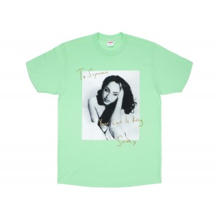 FW18 Supreme Sade Tee Light Green