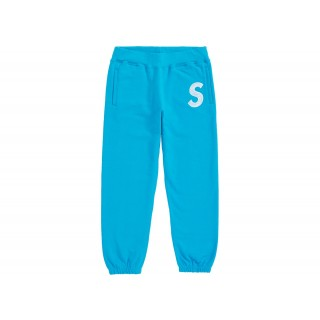 FW18 Supreme S Logo Sweatpant Bright Royal