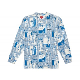 FW18 Supreme Salome L/S Top Blue