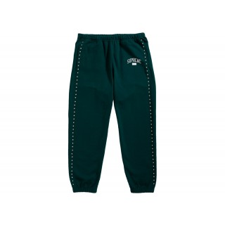 FW18 Supreme Studded Sweatpant Dark Green