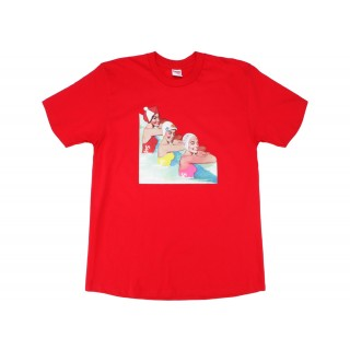 FW18 Supreme Swimmers Tee Red