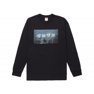 FW18 Supreme The Killer L/S Tee Black
